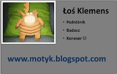 Wizytówka Klemensa :)