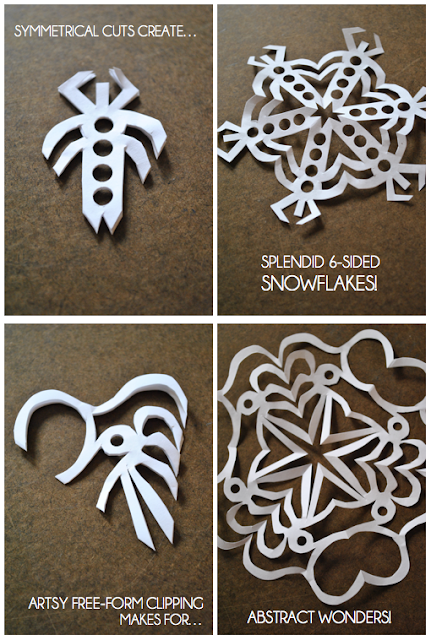 how to make perfect snowflakes out of paper