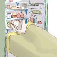 Problemas para dormir? Frio faz bem para o sono