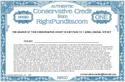Conservative Credits