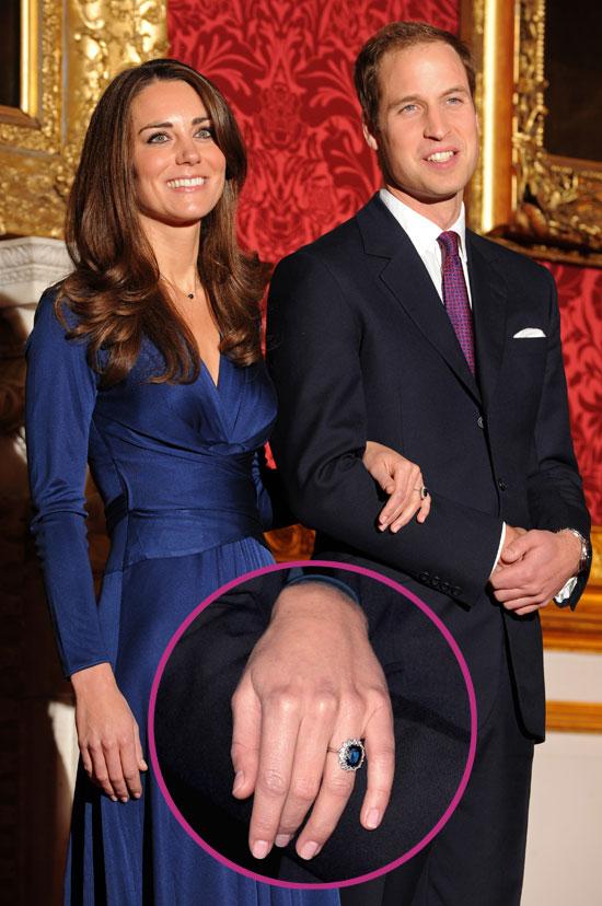 kate middleton and william engagement ring prince william bald 2011. kate middleton engagement ring