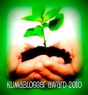 Jeg har fået en klima-award fra Mette b  januar 2010