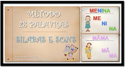 LIVRO+M%C3%89T.+28+PALAV. Livro: Método das 28 palavras para crianças