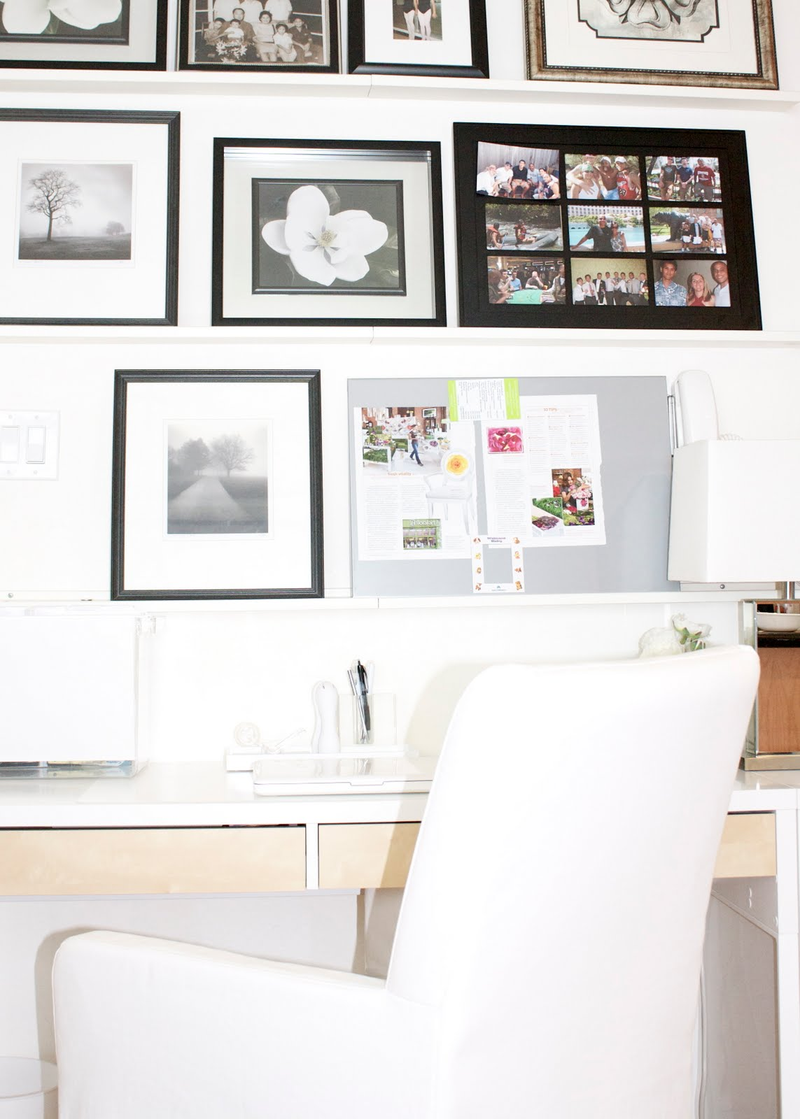 In With The New: Organized Office | Craft and Couture