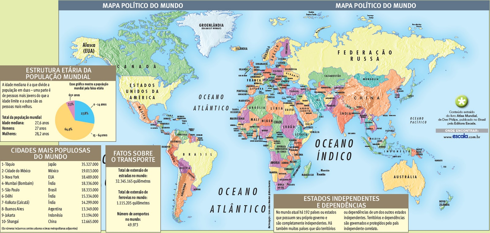 um blog contempor u00e2neo  o mapa pol u00edtico do mundo