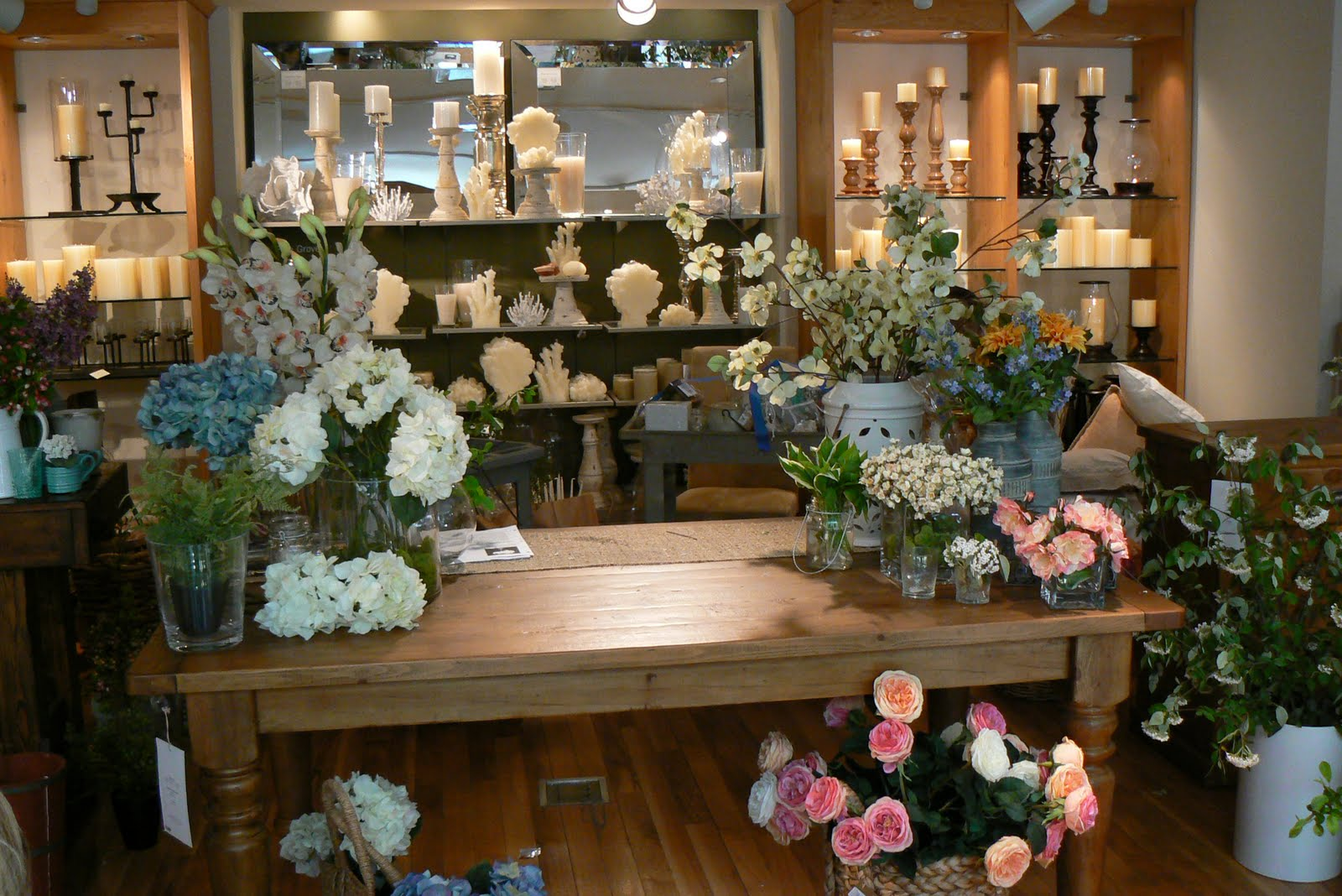 Tutu style pottery barn floral arranging class the first idea was on arranging large stems or branches in a large vase they recommended using an odd number of branches because it ends up looking better reviewsmspy