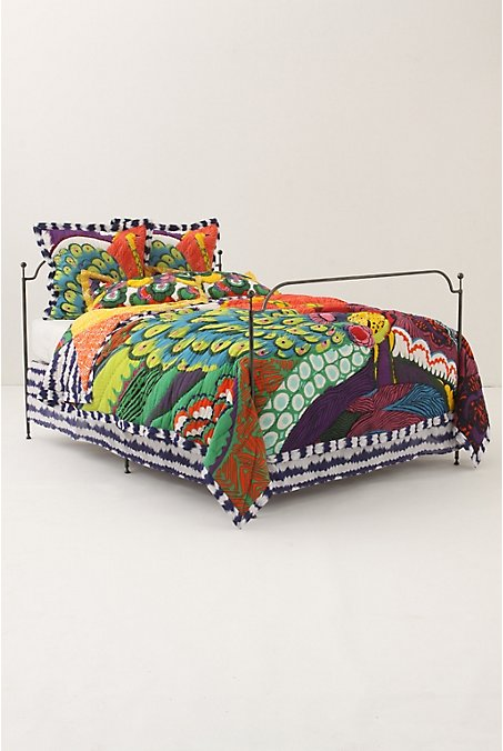 Tutu style peacock trend - Peacock bedspreads ...