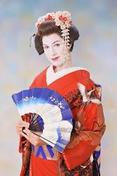 Me as a geisha