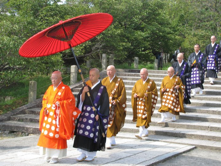 Monks in Japan