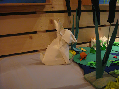Lapin origami