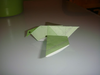 Colombe origami