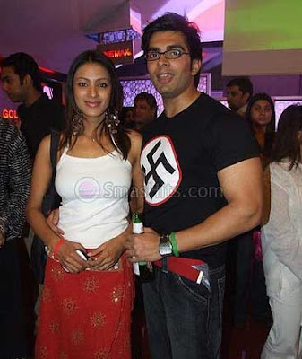 Karan Singh Grover and Riddhima