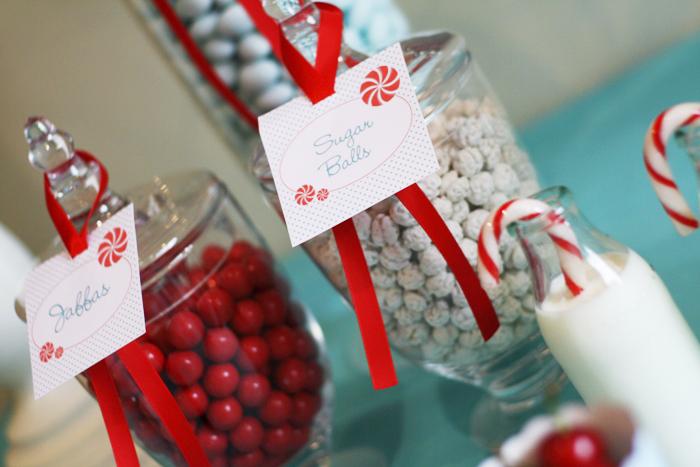 Be Festive: Christmas Dessert Table