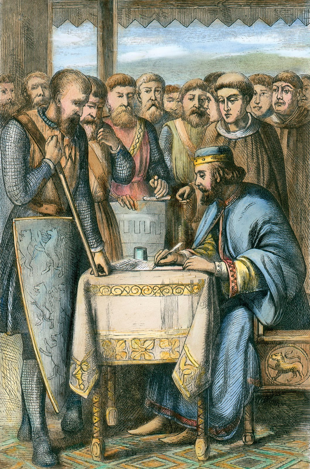 Monkey in the Middle: The Magna Carta