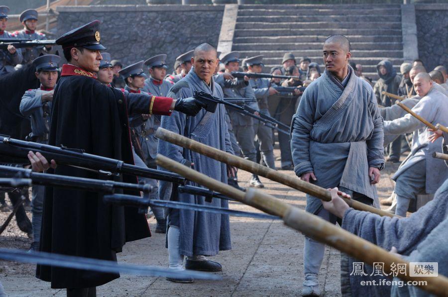 Foto Baru 'Shaolin' Tampilkan Andy Lau dan Nicolas Tse