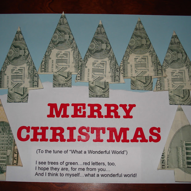 creative ways to give christmas money gifts karen ideas galore money origami idea