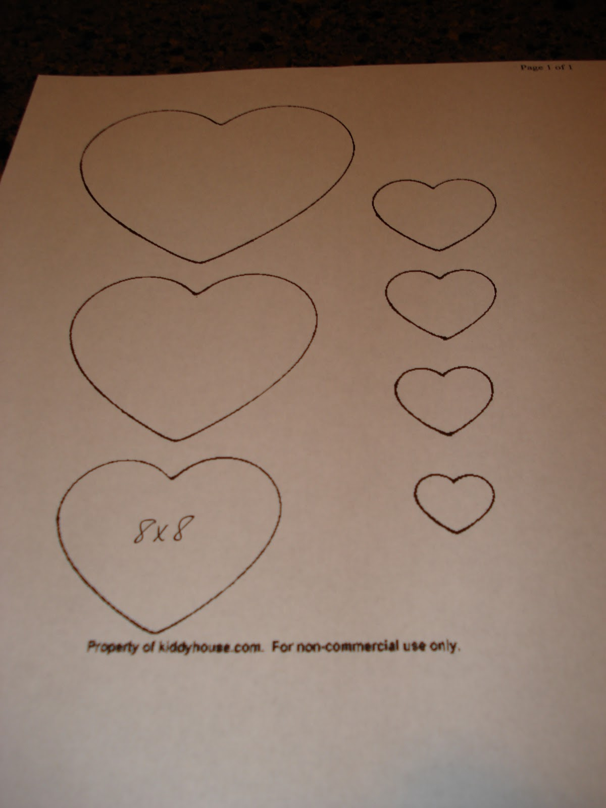 ... heart template heart card template printable heart template cut out