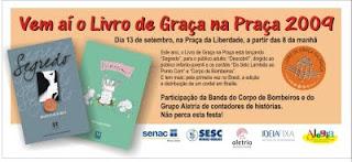 Folder anunciativo do LGP 2009