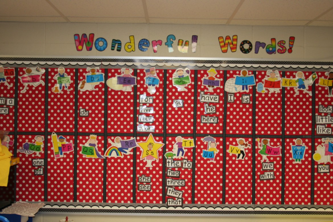 Word Wall Ideas For Preschool : Pixie chicks making a year monday