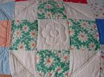 Old 30's feedsack fabric