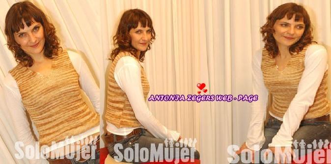 Antonia Zegers Web - Page