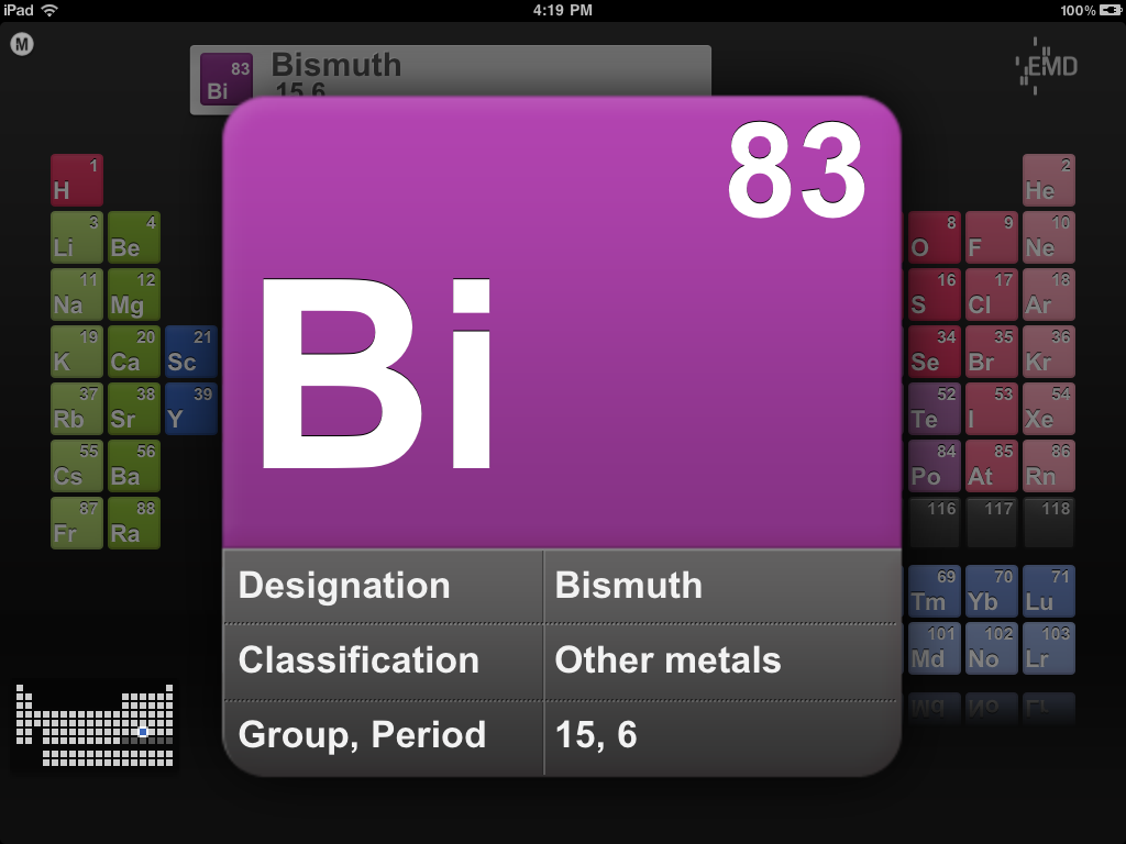 Geology and the ipad remixed geological musings in the taconic not necessarily geology specific but emd pte is a free and useful periodic table of elements app hopefully well get to see the pte for earth scientists urtaz Images