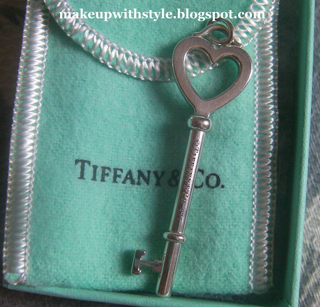 Tiffany & Co Key Pendant