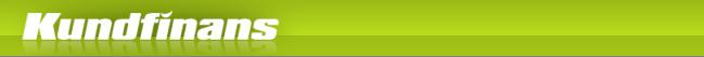 Kundfinans.se - Smslån Mobillån upp till 4000kr