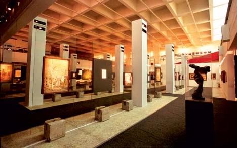 Interior do Museu Masp2