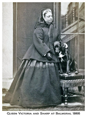 Queen Victoria and Sharp border collie 1866