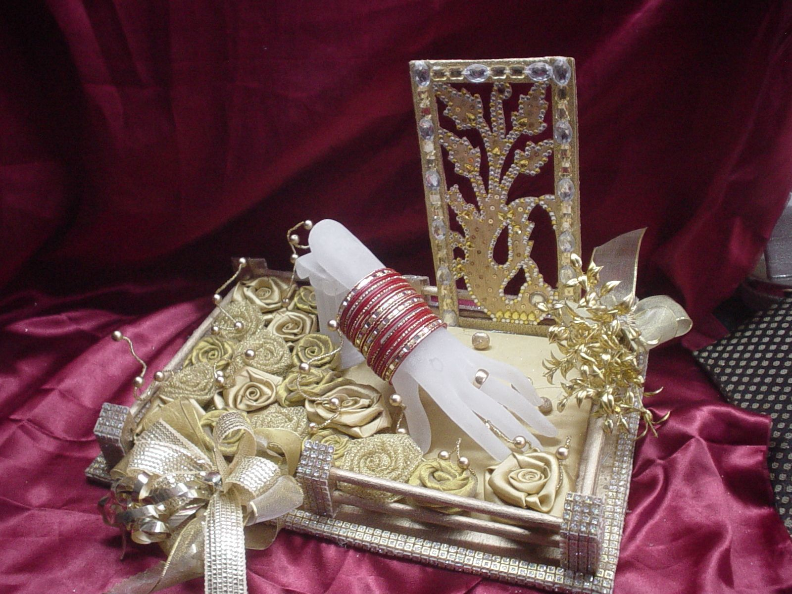 Indian Wedding Gift Decoration : tray of wedding packing wedding in u.k wedding in usa wedding ...