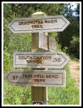 Deschutes River Trail Sign