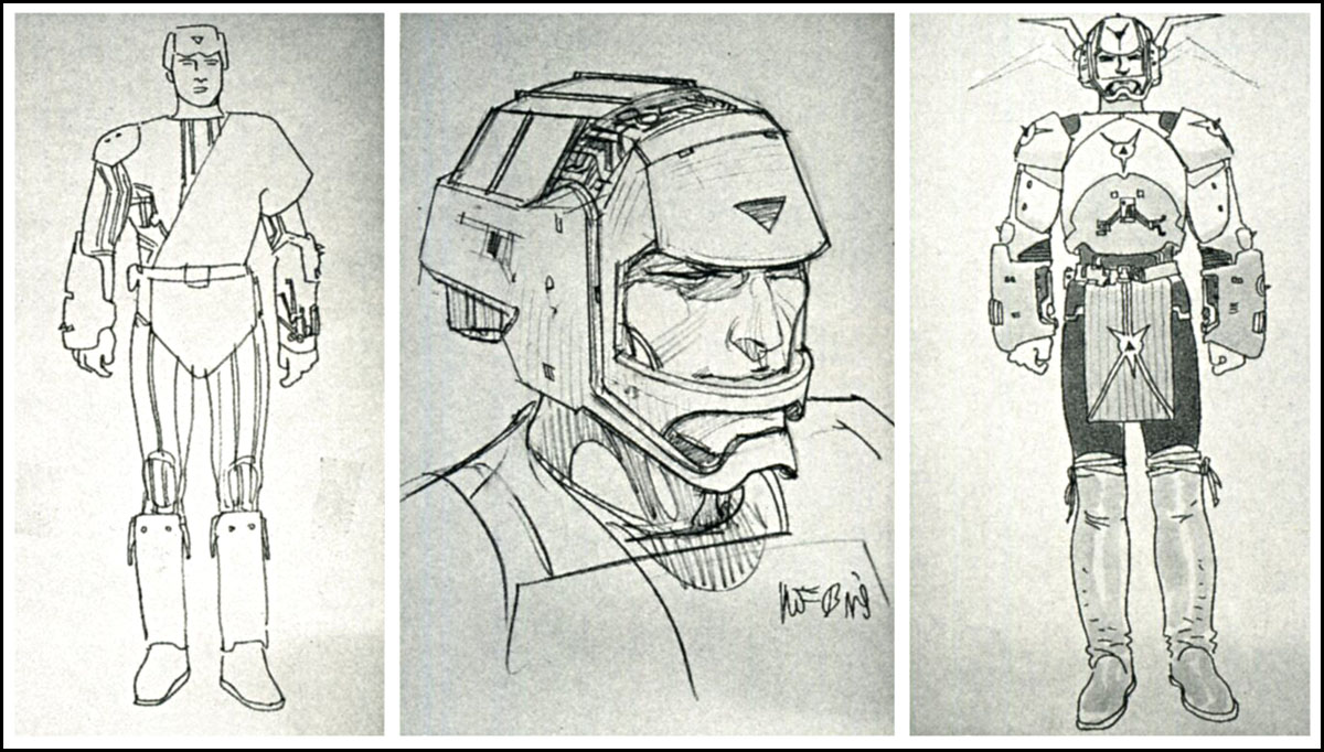 And more costume designs by MOEBIUS