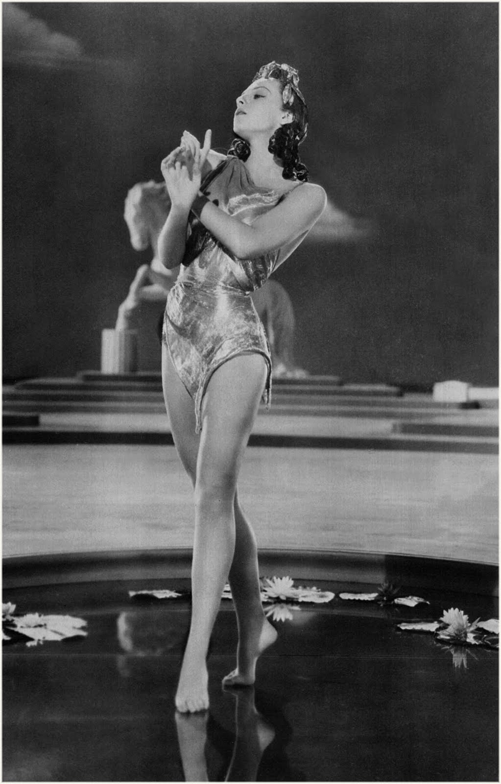 VINTAGE BLOG: The Goldwyn Follies : Vera Zorina 1938