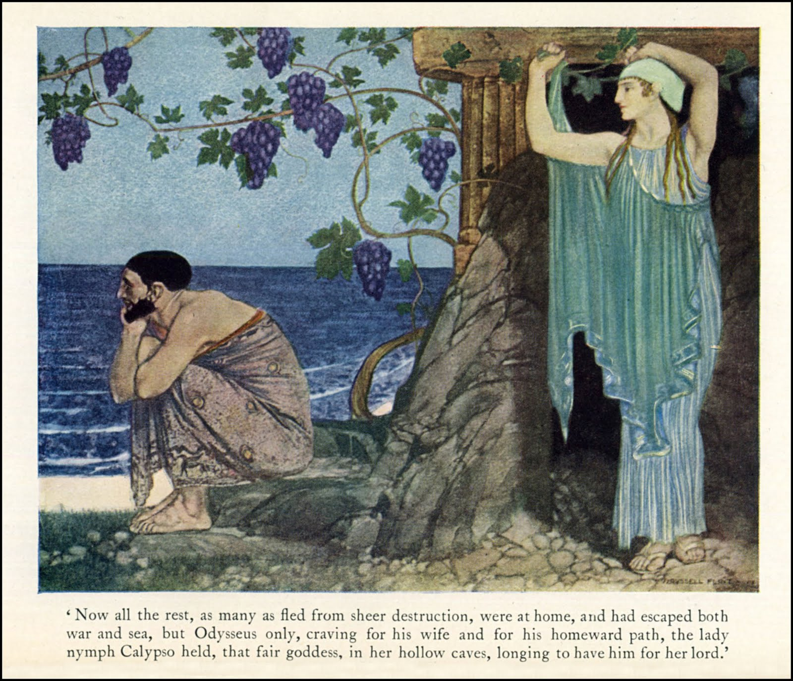 an analysis of the treatment of women by men in homers the odyssey