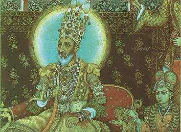India's first war of independance 1857: Mughal emperor's ...