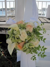 Floral Accent for the wedding ceremony