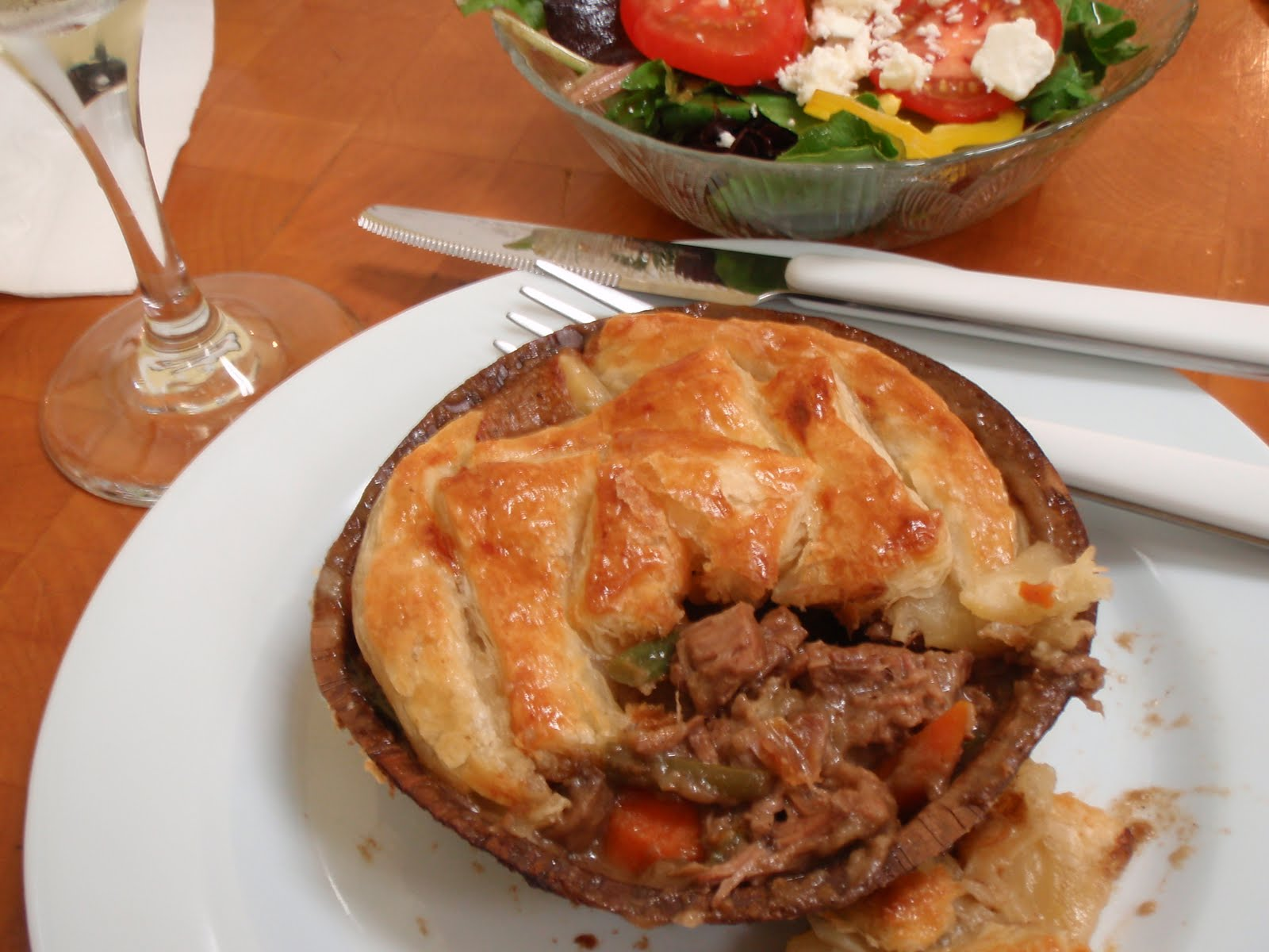 Recipe for Steak and Guinness Pub Pie