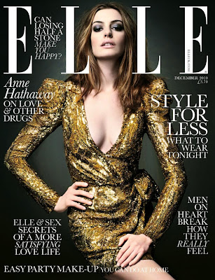 Anne Hathaway Sexy Model Cover