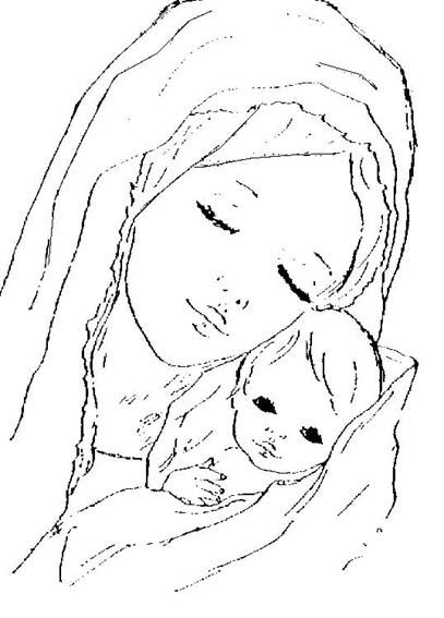 SANTA TERESA DE AVILA: LA VIRGEN MARIA