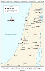 Joodse nederzettingen 1881- 1914