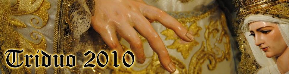 Triduo Amor Hermoso 2010