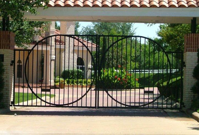Design Of Compound Wall Gate : Compound gates designs joy studio design gallery best