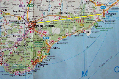 From Russia with Love From Simferopol to Fiodosia Crimea