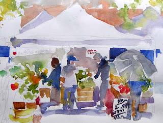 Ballard Farmers' Market by Susan K. Miller