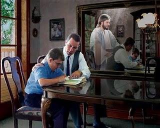 Estudo das escrituras.
