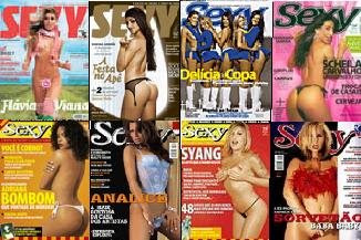 Capas Revista Sexy