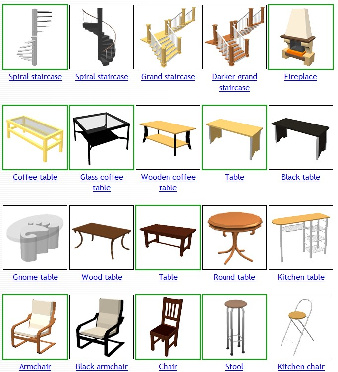 Objetos en ingl s imagui for 10 objetos en ingles del salon de clases