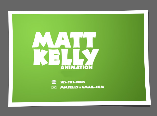 Matt Kelly's Animation Inspiration O' The Hour