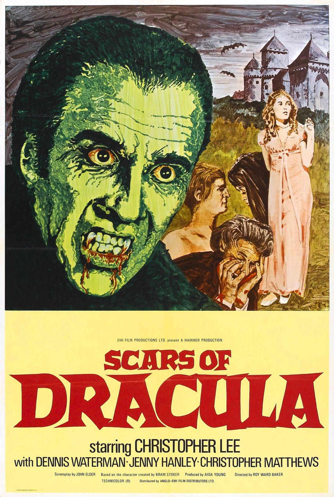 Simon Baker Scar Scars of dracula is a 1970